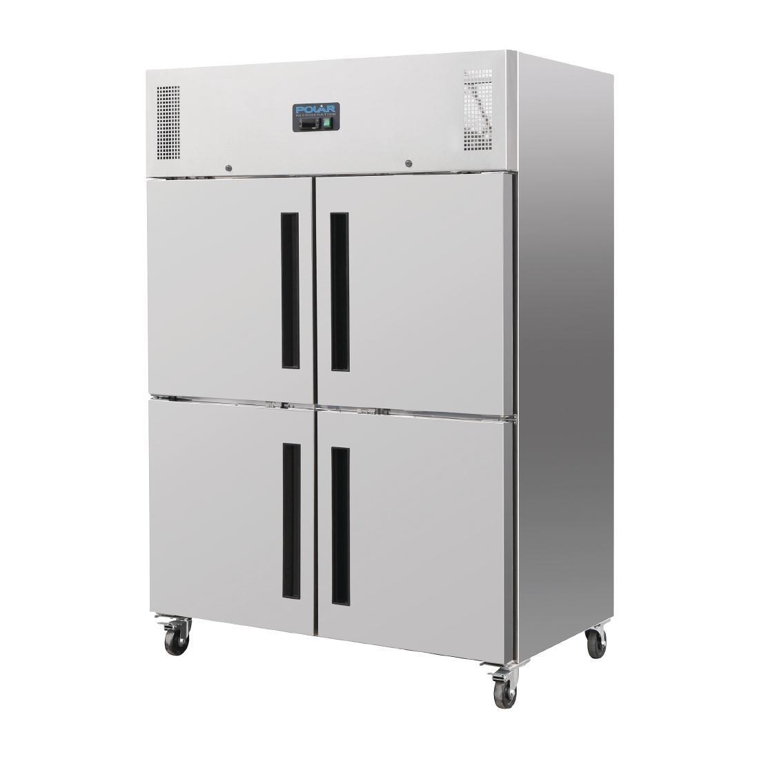 Polar Upright Double Stable Door Gastro Refrigerator 1200Ltr ...