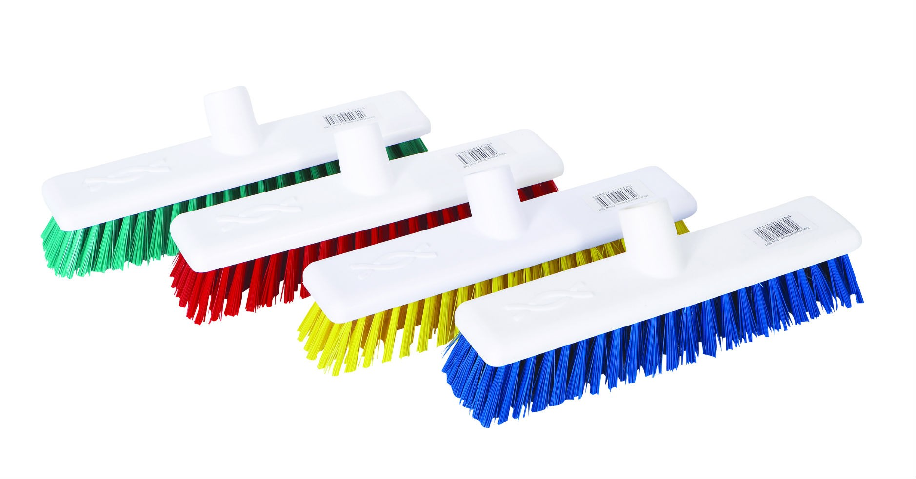"12"" Hygiene Broom Head (soft bristles)"