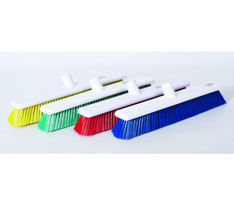 "18"" Hygiene Broom Head (soft bristles)"