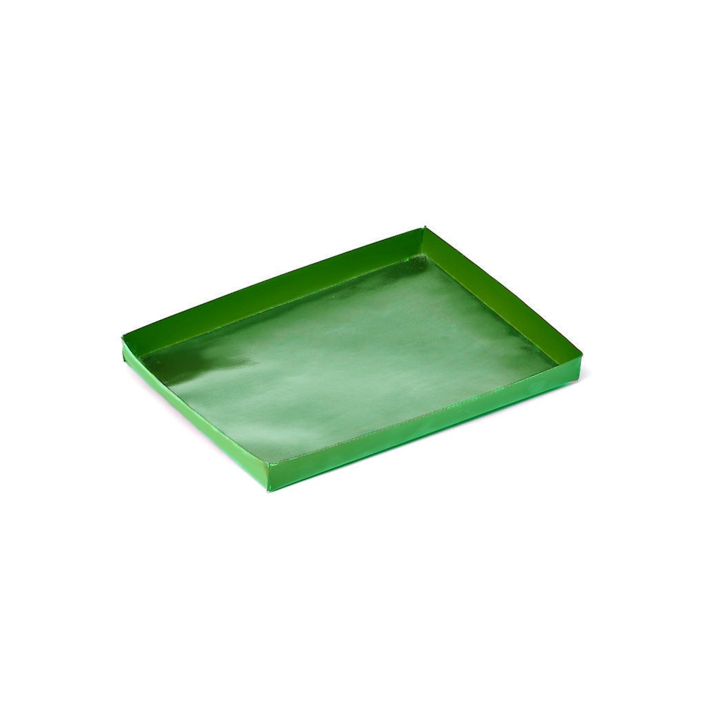 PTFE Green Solid Cooking Tray - TORNADO