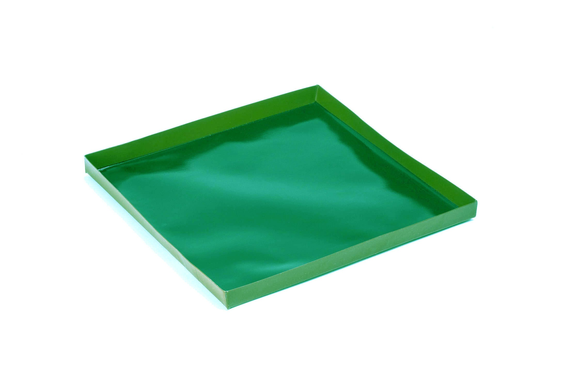 PTFE Green Solid Cooking Tray