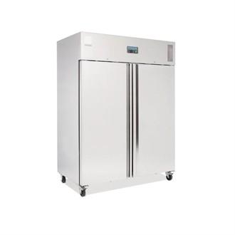 Polar Heavy Duty Double Door Freezer Stainless Steel 1300Ltr