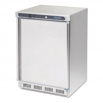 Polar Undercounter Freezer Stainless Steel 140Ltr