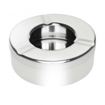 Olympia Stainless Steel Windproof Ashtray X6