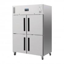 Polar Upright Double Stable Door Gastro Freezer 1200Ltr