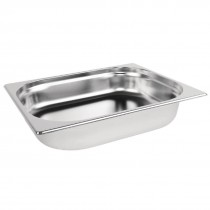 1/2 Stainless Steel Gastronorm Pan 65mm