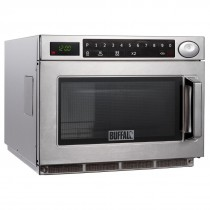 Buffalo Programmable Commercial Microwave Oven 1500W