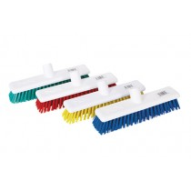 "12"" Hygiene Broom Head (stiff bristles)"