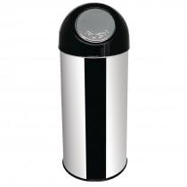 Bolero Stainless Steel Bullet Bin 50L