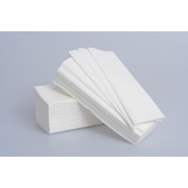 Z-Fold Hand Towels (White)